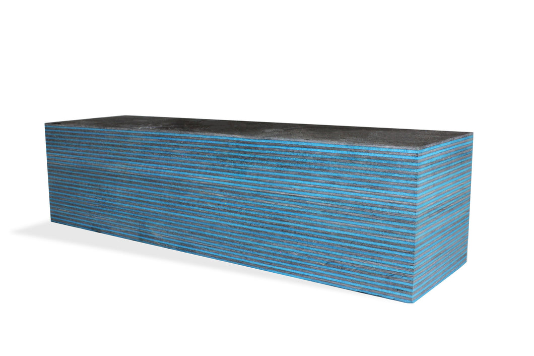 SpectraPly Blank: Dark Aqua - Cousineau Wood Products, CWP-USA.com, DymaLux,  Spectraply, Turning blanks, Pepper Mill, Diamond Wood, Webb Wood, laminated wood