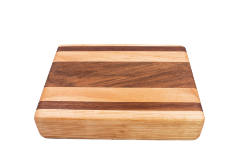 Cutting Board - Walnut/Birch Mix - Cousineau Wood Products, CWP-USA.com, DymaLux,  Spectraply, Turning blanks, Pepper Mill, Diamond Wood, Webb Wood, laminated wood
