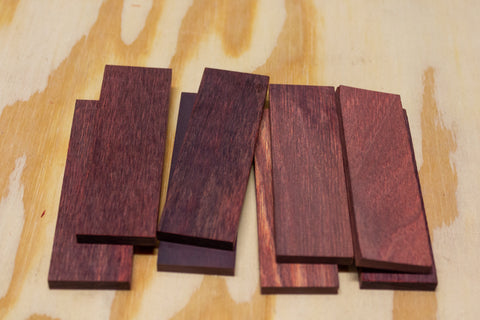 20-Pack DymaLux Rosewood Knife Scales