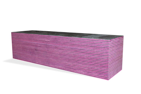 SpectraPly Blank: Pink Lady - Cousineau Wood Products, CWP-USA.com, DymaLux,  Spectraply, Turning blanks, Pepper Mill, Diamond Wood, Webb Wood, laminated wood