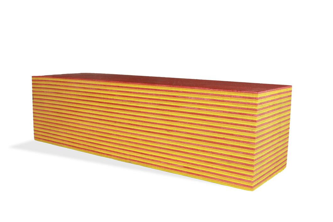 SpectraPly Blank: Tequila Sunrise - Cousineau Wood Products, CWP-USA.com, DymaLux,  Spectraply, Turning blanks, Pepper Mill, Diamond Wood, Webb Wood, laminated wood