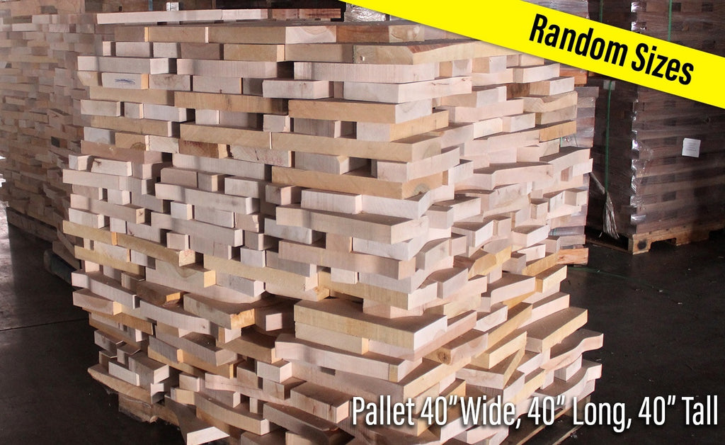 Soft Maple Cut-Offs - Cousineau Wood Products, CWP-USA.com, DymaLux,  Spectraply, Turning blanks, Pepper Mill, Diamond Wood, Webb Wood, laminated wood