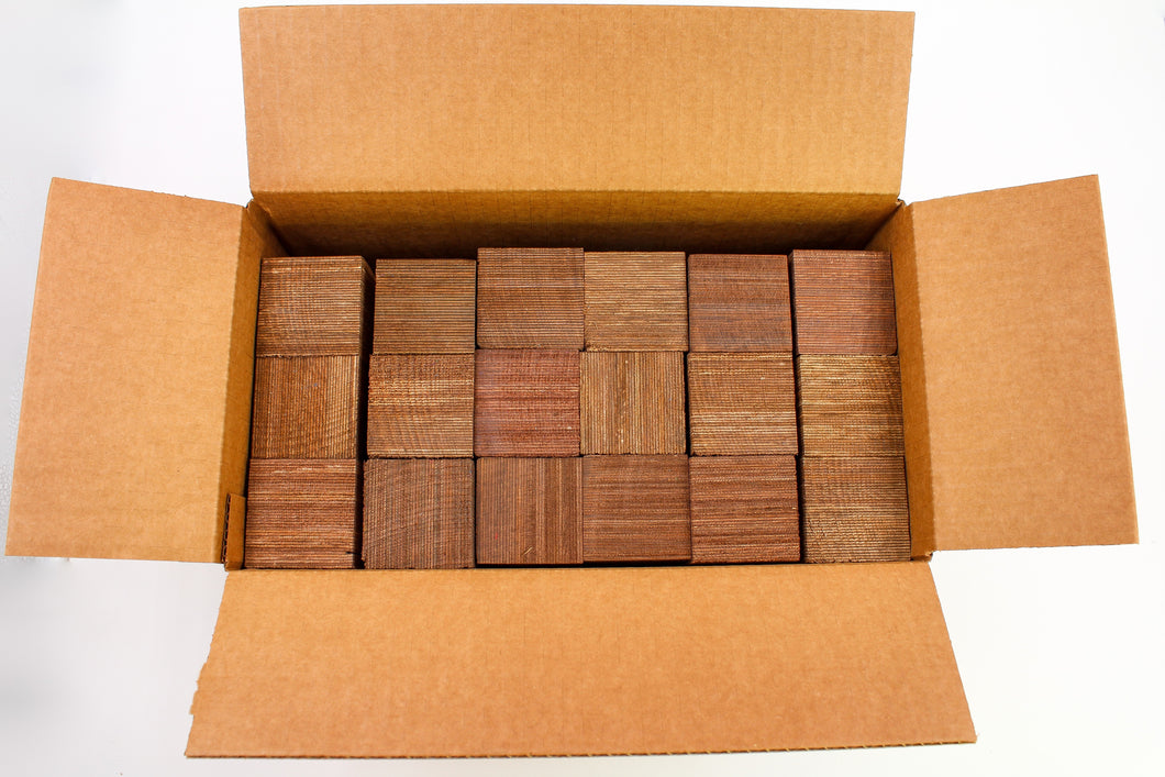 18-PACK SpectraPly 2x2x6 Nutmeg - Cousineau Wood Products, CWP-USA.com, DymaLux,  Spectraply, Turning blanks, Pepper Mill, Diamond Wood, Webb Wood, laminated wood