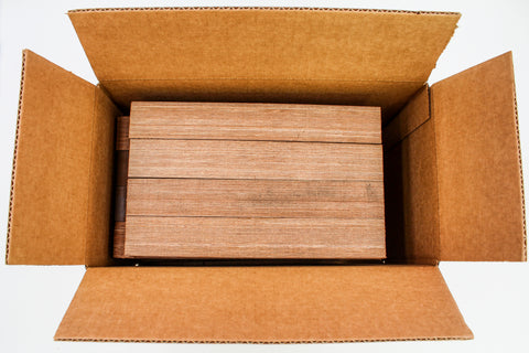 "16-PACK SpectraPly Nutmeg 1.5"" x 1.5"" x 11"" - Cousineau Wood Products, CWP-USA.com, DymaLux,  Spectraply, Turning blanks, Pepper Mill, Diamond Wood, Webb Wood, laminated wood"