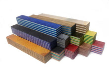 Load image into Gallery viewer, Assorted SpectraPly Pen Blanks - Cousineau Wood Products, CWP-USA.com, DymaLux,  Spectraply, Turning blanks, Pepper Mill, Diamond Wood, Webb Wood, laminated wood
