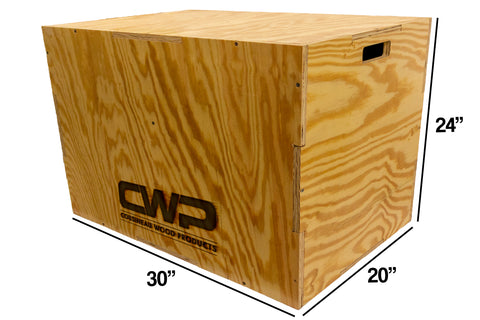 PLYO BOX - Cousineau Wood Products, CWP-USA.com, DymaLux,  Spectraply, Turning blanks, Pepper Mill, Diamond Wood, Webb Wood, laminated wood