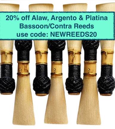 New Professional Bassoon Reeds
