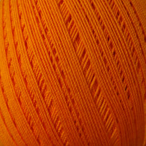 Bassoon Reed Thread Wrapping (260m, cotton) - Orange