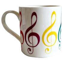 Little Snoring: Fine China Mug - Allegro (Treble Clef)