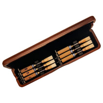 Mahogany Oboe Reed Case (6 reeds with springs)