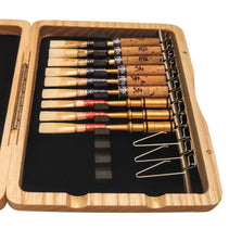Natural Wood Oboe Reed Case (12 reeds with springs)