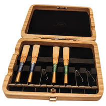 Natural Wood Cor Anglais / Oboe d'Amore Reed Case (7 reeds with springs)