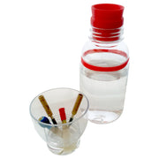 Water Bottle (with cup to soak reeds!) - Dishwasher safe