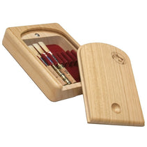 Chiarugi Wooden Oboe Reed Case (8 reeds) - Crook and Staple