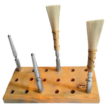 Chiarugi Reed Drying Board for 18 Interchangeable Bassoon Mandrels - Crook and Staple