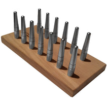 Chiarugi Reed Drying Board with 13 Fixed Bassoon Mandrels - Crook and Staple