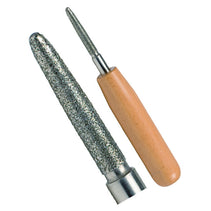 Rieger Bassoon Reed Reamer (Diamond Coated) - Crook and Staple
