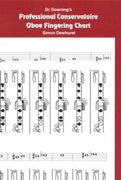 Oboe Fingering Chart (Conservatoire Fingering) - Crook and Staple