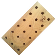 Chiarugi Reed Drying Board for 18 Interchangeable Oboe Mandrels - Crook and Staple
