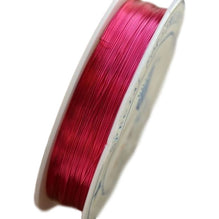 Brass Oboe Reed Wire (Pink, 0.3mm thick, 28m long) - Crook and Staple