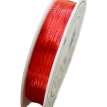 Brass Oboe Reed Wire (Red, 0.3mm thick, 28m long) - Crook and Staple