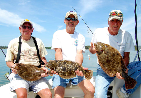 where to catch flounder