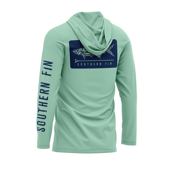 Performance Fishing Hoodie Shirt (Green)