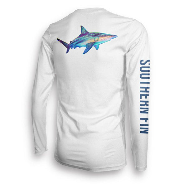 Performance Fishing Shirt Long Sleeve (Blacktip)
