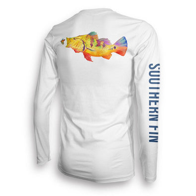 Performance - Performance Fishing Shirt Long Sleeve (Peacock Bass)