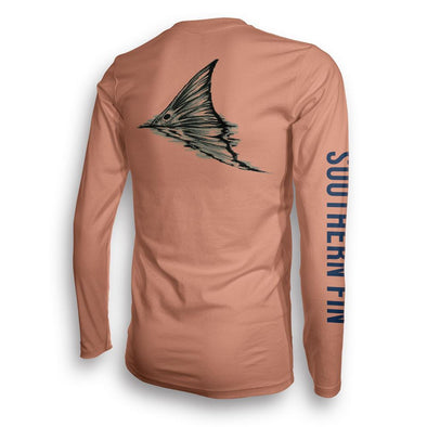 Performance - Performance Fishing Shirt Long Sleeve (Redfish Tail)