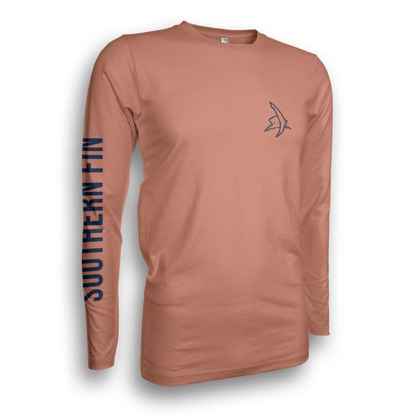 Performance Fishing Shirt Long Sleeve (Redfish Tail)