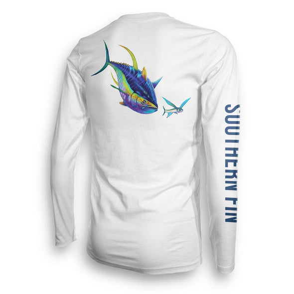 Performance Fishing Shirt Long Sleeve (Yellowfin)