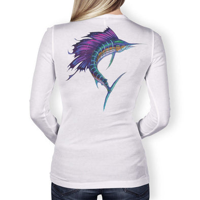 Performance - Women's Performance Fishing Shirt Long Sleeve (Sailfish)