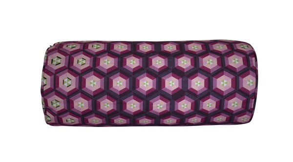 Honeycomb Bolster - Digitally Printed, 100% Cotton - © 2015 Claire ∆lderdice Textiles