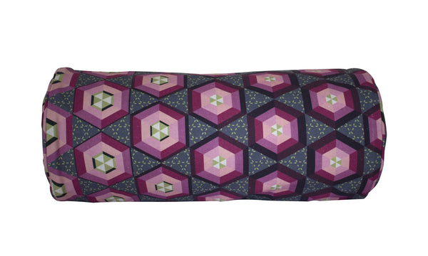 Morph Bolster - Digitally Printed, 100% Cotton - © 2015 Claire ∆lderdice Textiles