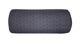 Tessellation Grey Bolster - Digitally Printed, 100% Cotton - © 2015 Claire ∆lderdice Textiles