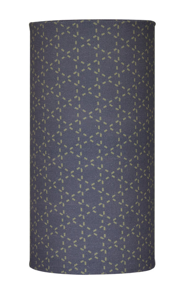 Tessellation Grey Tube Light - Digitally Printed, 100% Cotton - © 2015 Claire ∆lderdice Textiles