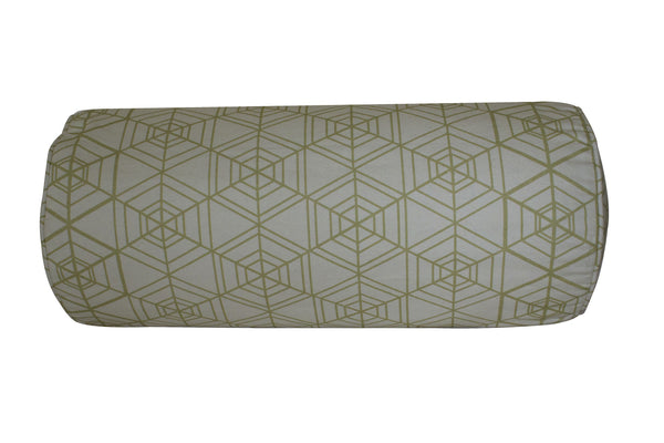 Tessellation Morph Bolster - Digitally Printed, 100% Cotton - © 2015 Claire ∆lderdice Textiles