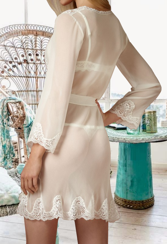Terazzo Sheer Robe - Frances Smily