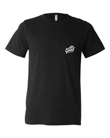 Classic Black Pocket T-Shirt