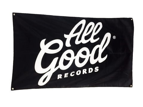 "All Good Records Flag 36"" x 58"""