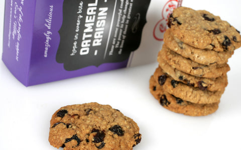 Oatmeal Raisin Cookies Gift Box
