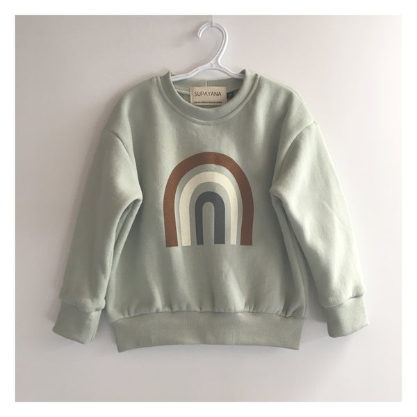 Arc en ciel Sweatshirt // Rainbow sweatshirt