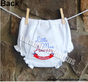 4th of July bloomers diaper cover