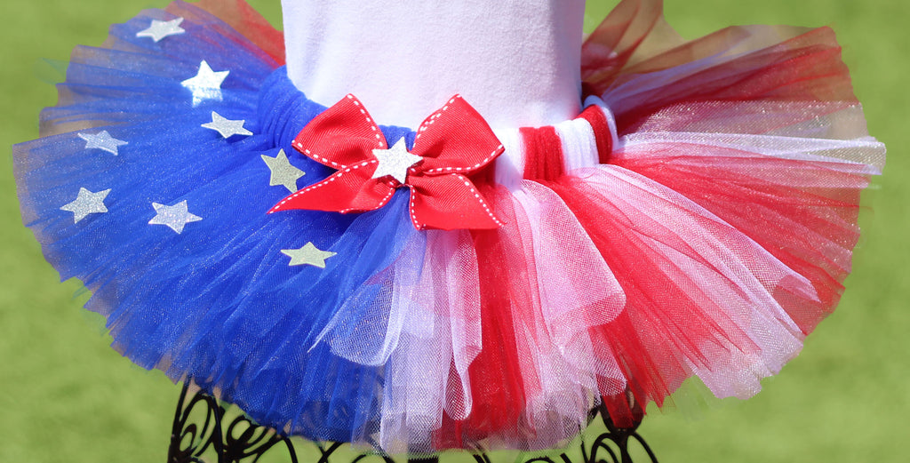 Adult 4th of July Tutu