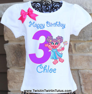Abby Cadabby Birthday Shirt