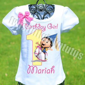 Dispicable Me Agnes Birthday Shirt
