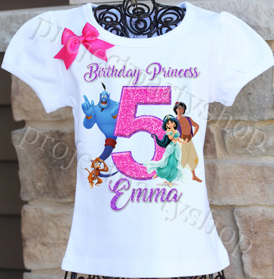 Aladdin Birthday Shirt