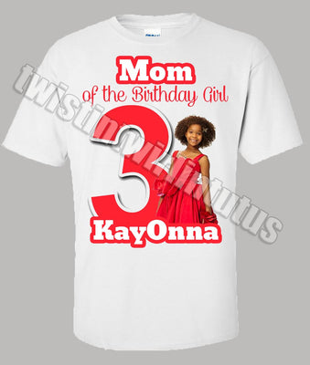 Annie Mom Birthday Shirt