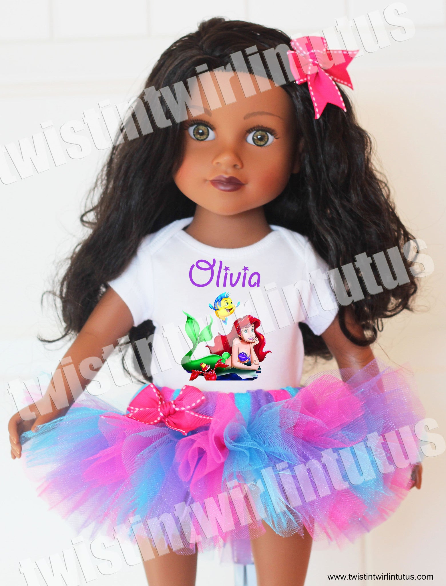 "Little Mermaid 18"" Doll Outfit"